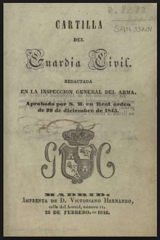 Principios de la Guardia Civil