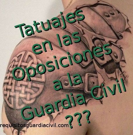 Tatuajes en la Guardia Civil