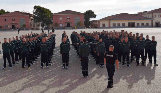 Aspirantes a Guardia Civil
